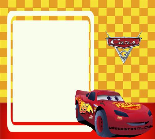 Cars 3 invitaciones de cumpleaños – imprimibles cars 3 – imagenes ...